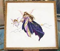 The First Flight Cross Stitch Pattern (11-2680) Embroidery Patterns by Passione Ricamo