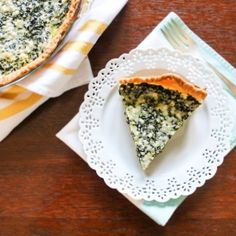 Spinach and Feta Pie. All that you love from spanakopita, without all ...