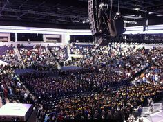 final countdown. 26 minutes until showtime to deliver the commencement address for the Ken Blanchard School of Business here at GCU. #rockon #lopes2012 #GCUCommencement