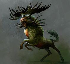 Holly Honey Beast by *KatePfeilschiefter on deviantART