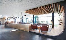 Birckenstock's Rhineland, Germany, HQ renovated by Brandherm + Krumrey Interior Architecture