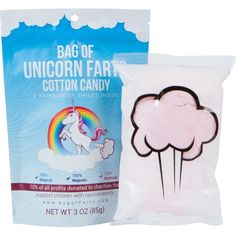 Bag of Unicorn Farts (Cotton Candy) Funny for All Ages Unique Stocking Stuffer White Elephant Gag Gift for Friends, Mom, Dad, Birthday Girl, Boy Birthday Gag Gifts, Birthday Gifts For Girls, Friend Birthday, Girl Birthday, Elephant Birthday, Unicorn Birthday, Funny Birthday, Birthday Parties, Husband Birthday