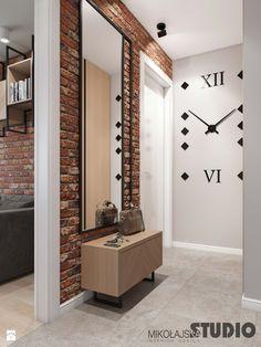 Industrial Style Bedroom, Clinic Interior Design, Brick Loft, Loft Interiors, Interior Concept, Home Room Design, Hallway Decorating, Home Decor Furniture, House Rooms