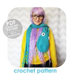 Epic Octopus Scarf With Tentacles Pattern By Hello Happy