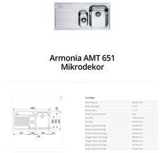 Armonia AMT 651 Mikrodekor franke  franke Armonia AMT 651 Mikrodekor