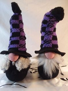 Items similar to Tall Male Wizard Gnome, Magic Female Witch Style Sock Gnome Doll on Etsy Spooky Halloween, Halloween Decorations, Scandinavian Gnomes, Christmas Gnome, Cheap Christmas, Witch Fashion, Cute Socks, Fall Crafts, Arm Warmers