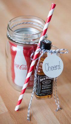 #whiskey cola to go