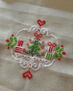 Thrilling Designing Your Own Cross Stitch Embroidery Patterns Ideas. Exhilarating Designing Your Own Cross Stitch Embroidery Patterns Ideas. Cross Stitch Christmas Ornaments, Xmas Cross Stitch, Cross Stitch Heart, Cross Stitching, Cross Stitch Embroidery, Christmas Tree, Paper Embroidery, Embroidery Ideas, Christmas Ideas