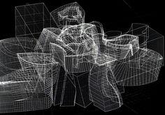 Frank O. Gehry (immagine al computer del Museo Guggenheim di Bilbao) Bilbao, Projects, Log Projects