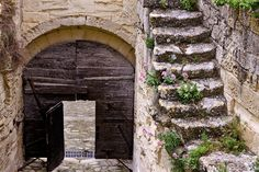 Arch and Stairs, Les Baux-de-Provence by chanteuse1, via Flickr