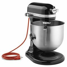 KitchenAid KSM8990OB 8-Qt Commercial Bowl-Lift Stand Mixer, Onyx Black for sale