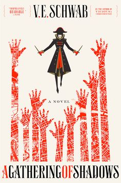 #CoverReveal A Gathering of Shadows (A Darker Shade of Magic, #2) - V. E. Schwab (adult, but likely crossover appeal)