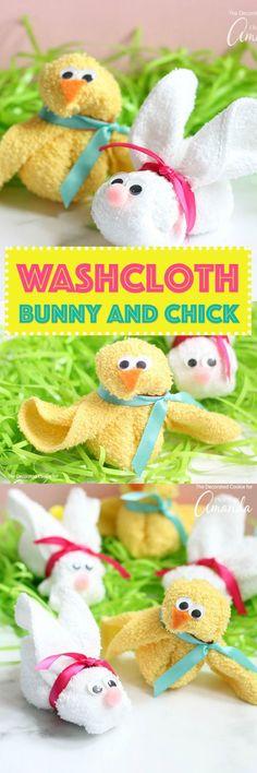 These washcloth bunn