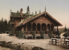 ca 1890-1900.Trondhjem. Fossestuen Hotel by ca National Library of Norway, via Flickr