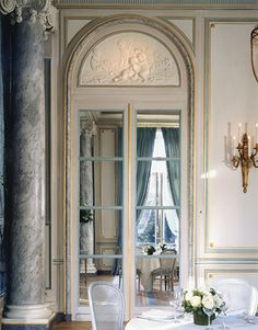 Cercle de l'Union Interalliée, Paris 5e ~ a private club that hosts luncheons, dinners and receptions with guest lecturers and cultural discussions