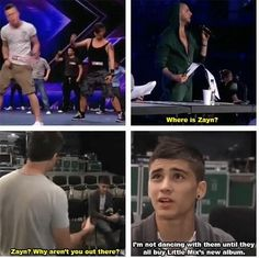 lol. xD oh my gosh everyone is obsessed with Zayn doing funny stuff about Little Mix because of their album