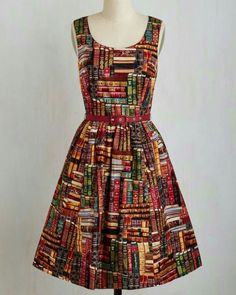 I would love to find this material and make this dress or a skirt!