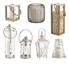 Yay! I'm loving these lanterns. Vintage style, but new and shiny :)