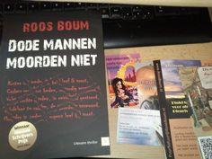 Roos Boum - Dode mannen moorden niet (At SJM Schrijft blog)