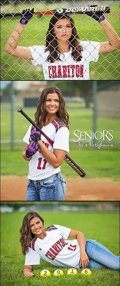 Softball Senior Picture Ideas : Belle of the Balls: Softball senior picture ideas for girls - Chariton, IA Senior Picture Ideas are at the core of everything we do to make your senior pictures special and tell your story in a unique way. Senior Softball, Softball Senior Pictures, Girls Softball, Softball Players, Softball Stuff, Softball Memes, Softball Clothes, Softball Uniforms, Softball Cheers