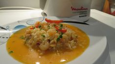 Receita proveniente do site Receitas Moulinex Risotto, Grains, Rice, Ethnic Recipes, Food, Red Bell Peppers, Other Recipes, Ideas, Ethnic Food