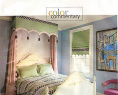 Bed canopy - banded Cornice with tassel detail