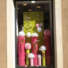 Pinterest Decoration VITRINE PRINTEMPS | Décoration florale événementielle Toulouse - VERT AUTREMENT