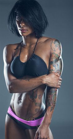"Massiel ""Manokofit"" Arias // Photos by Ludwig..."