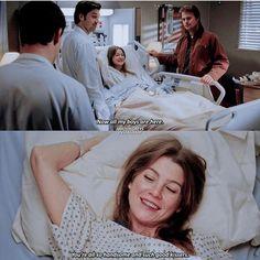 Greys Anatomy Episodes, Grays Anatomy Tv, Greys Anatomy Memes, Grey Anatomy Quotes, Movies And Tv Shows, Series Movies, Grey's Anatomy Tv Show, Meredith And Derek, Grey Quotes