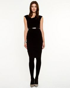 Lightweight Bengaline Shift Dress - Bought this today at Le Chateau