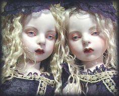 twin / koitsukihime doll : Ariel head sculpt.