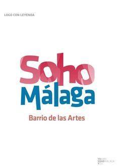 'Soho Málaga - Barrio de las Artes' - Branding by @toniricoflores, via @Behance