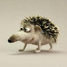 СерЁжа- миниатюрная игрушка из шерсти - Ярмарка Мастеров - ручная работа, handmade