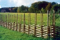 Decorative Garden Fencing Will Make Your Garden Stand Out – Gardening Decor Bamboo Trellis, Bamboo Fence, Decorative Garden Fencing, Wood Fence Design, Country Fences, Bamboo Structure, Timber Fencing, Backyard Buildings, Living Fence