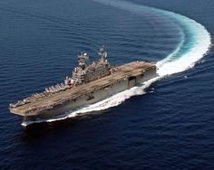 army USS Peleliu LHA 5 in the South China Sea