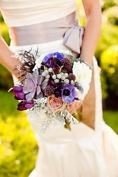 love this natural bouquet!