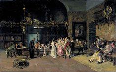 'La vicaria', Marià Fortuny, París, 1870, MNAC. És una proposta de Mavi Carberol.