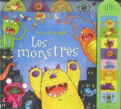 Les Mercredis de Julie : Les monstres ! Livre sonore, Editions Usborne