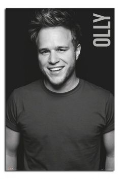 Olly Murs Black And White Poster Magnetic Notice Board Beech Framed - x 66 cms (Approx 38 x 26 inches) Black And White Posters, Print Store, Pop Singers, Music Is Life, How To Look Better, Boards, My Love, Prints, Signs