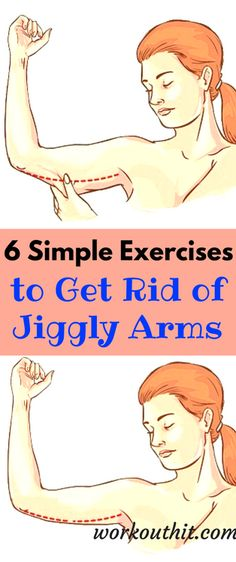 There are 2 main causes of flabby arms, the first one is age and the second is body fat. As we become older, our skin becomes saggier as it loses its elasticity. This is mainly noticeable in the upper parts of our hands. The problem is that there is not much we can do about it.