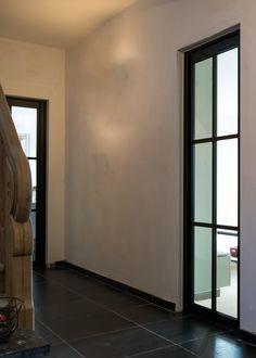 steel look binnendeur met 6 vakverdelingen