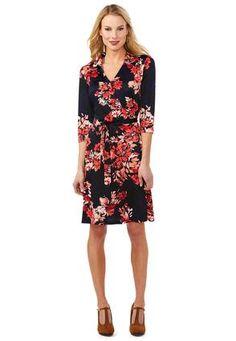 666f3e11637 Cato Fashions Floral Wrap Dress-Plus  CatoFashions