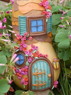 How to Make a Fairy House | HGTV