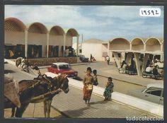 SAHARA ESPAÑOL - EL AAIUN - VISTA PARCIAL DEL ZOCO NUEVO - CIRCULADA - P19592 - Foto 1