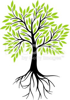 live oak tree clip art black and white | ... graphic depicting a ...