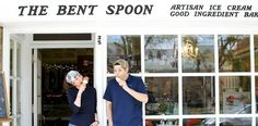 18. The Bent Spoon - Princeton, N.J. | sea salt caramel and beer-infused dark chocolate / 27 Ice Cream Shops You Need To Visit Before You Die