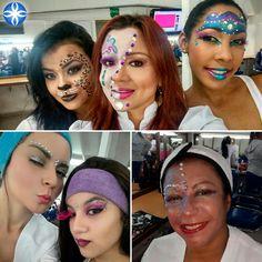 El #maquillaje reúne olores, colores y texturas, en #lacole las disfrutamos. #losmejoresdelmaquillaje #maquillajeprofesionalenmedellin