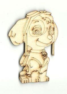Puppy Dog - Laser Cut Wood Shape DOG52