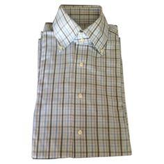 #ALEXANDERMCQUEEN Blue checked #shirt   £44.15