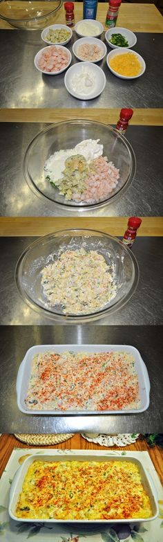 Cheesy Crab, Shrimp and Artichoke Dip Recipe
